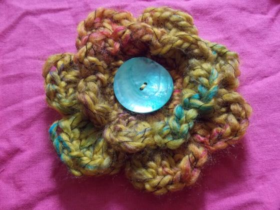Crochet flower Simplicity 1621