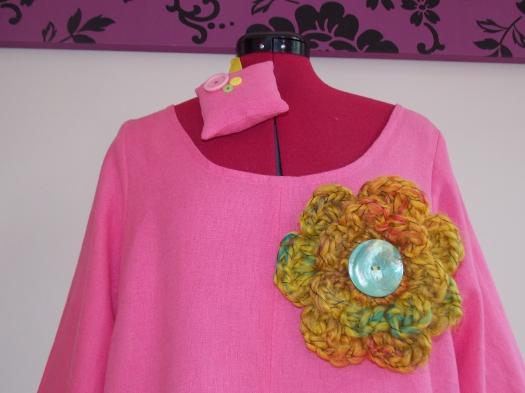 Simplicity 1621 crochet flower